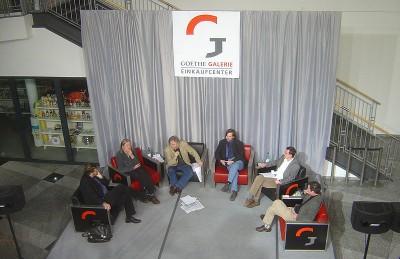 Diskussionrunde in der GoeGa