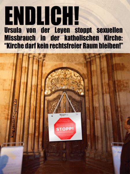 Leyen, Kirche, Rechtsfrei
