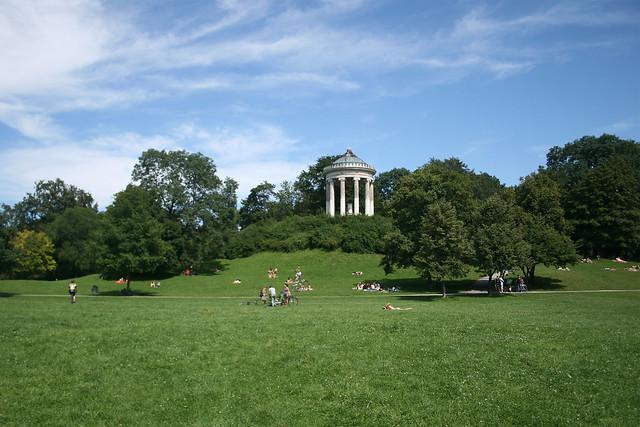Englischer Garten, Kleinhesseloher See & Aumeister