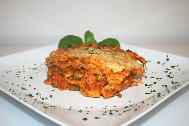 Rigatoni al forno – das Rezept