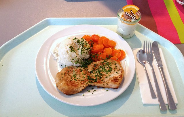 Japanisches Ingwersteak mit Honig-Karotten [04.03.2014]