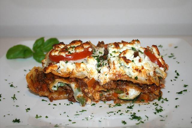 Griechische Lasagne – das Rezept