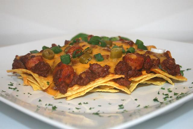 Chili Dog Nachos – das Rezept
