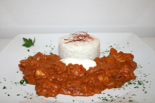 Murgh Makhani – Indisches Butterhuhn – das Rezept