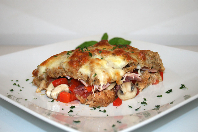 Pizzatoast-Auflauf – das Rezept