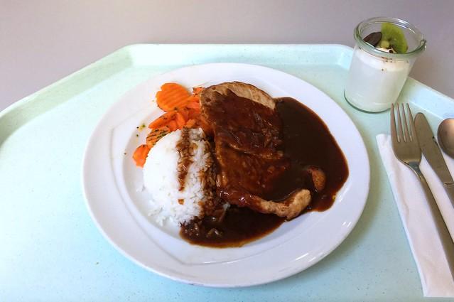 Japanisches Ingwersteak mit Honigkarotten & Reis [11.09.2015]
