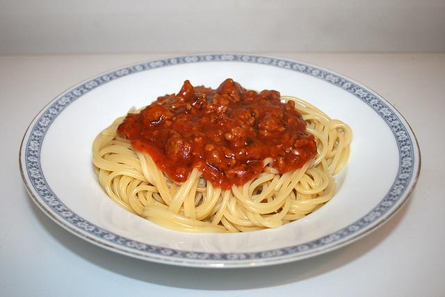 Spaghetti mit Hackfleisch-Tomatensauce – das Rezept (Reloaded)
