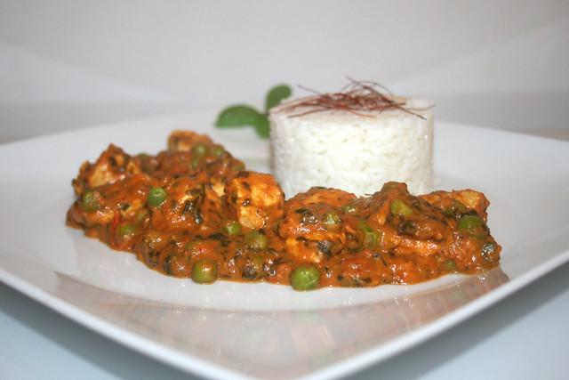 Chicken Palak – das Rezept