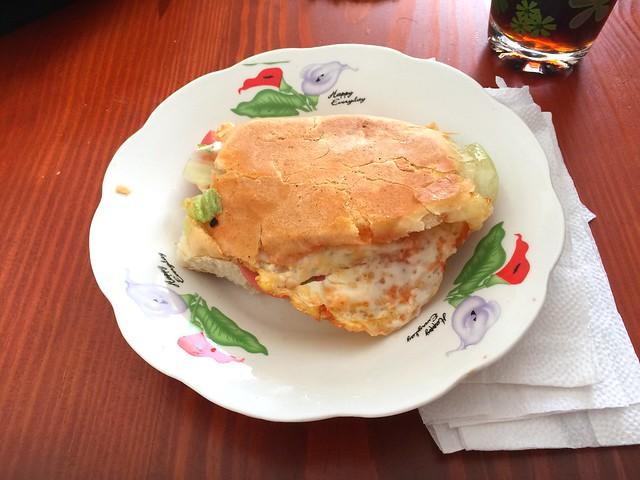 Dominikanisches Sandwich mit Spiegelei [06.06.2016]