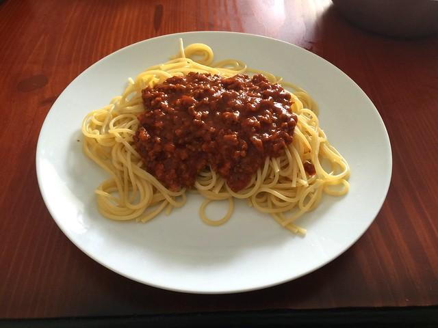 Spaghetti mit Hackfleisch-Tomatensauce @ Dominikanische Republik [09.06.2016]