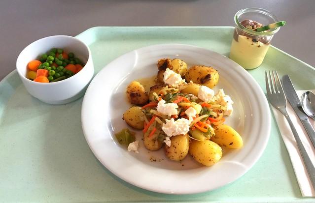 Kartoffel-Gröstl mit Lauch & Schafskäse [20.06.2016]