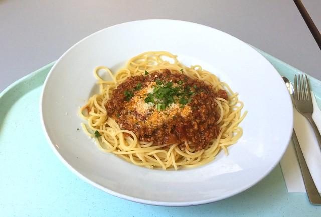 Spaghetti Bolognese & Parmesan [19.07.2016]
