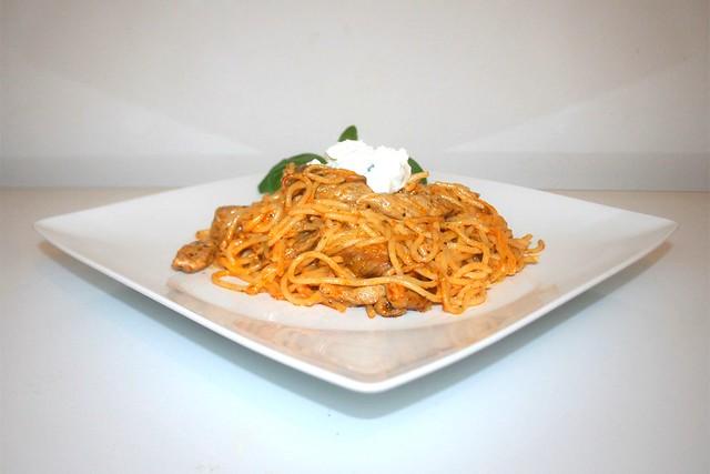 Gyros-Spaghetti-Auflauf – das Rezept