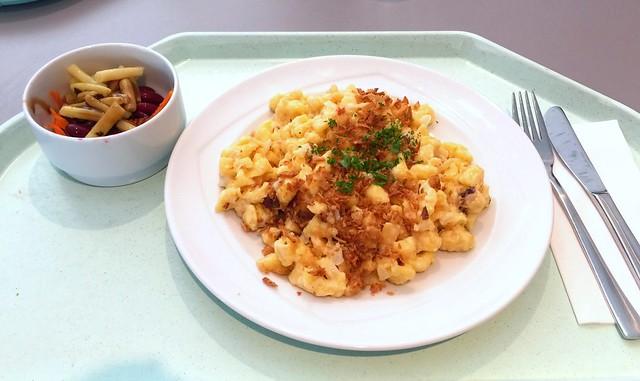 Tiroler Käsespätzle mit Röstzwiebeln [31.08.2016]