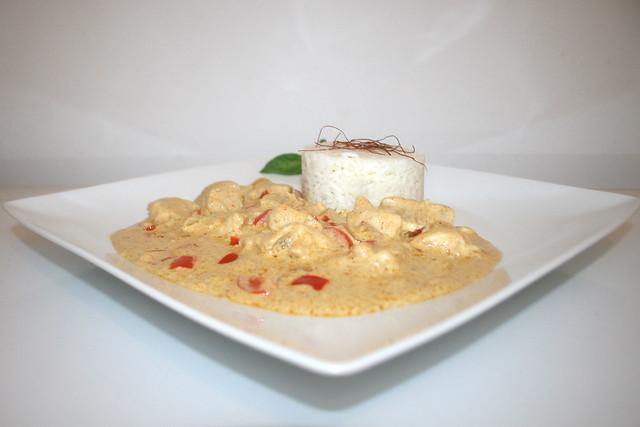 Tandoori-Pute in raffinierter Joghurt-Sauce – das Rezept