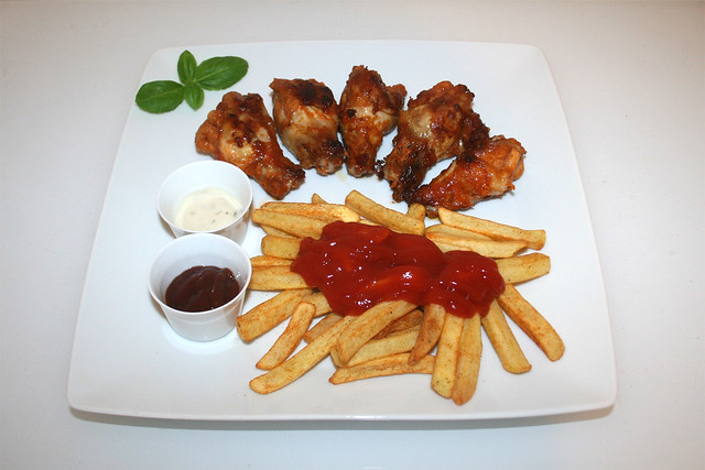 Chicken Wings & Pommes Frites [01.11.2016]
