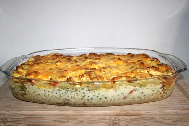 Gyros-Nudelauflauf mit Feta & Sauce Hollandaise – Re-Cooked