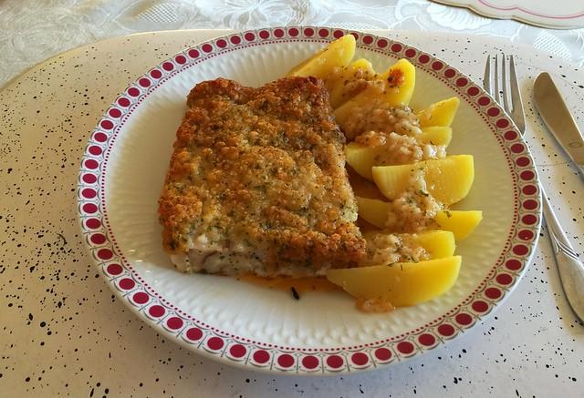 Fischfilet Bordelaise & Salzkartoffeln [16.01.2016]