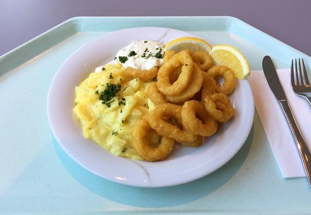 Gebackene Calamari mit Remoulade & Kartoffelsalat [20.01.2016]
