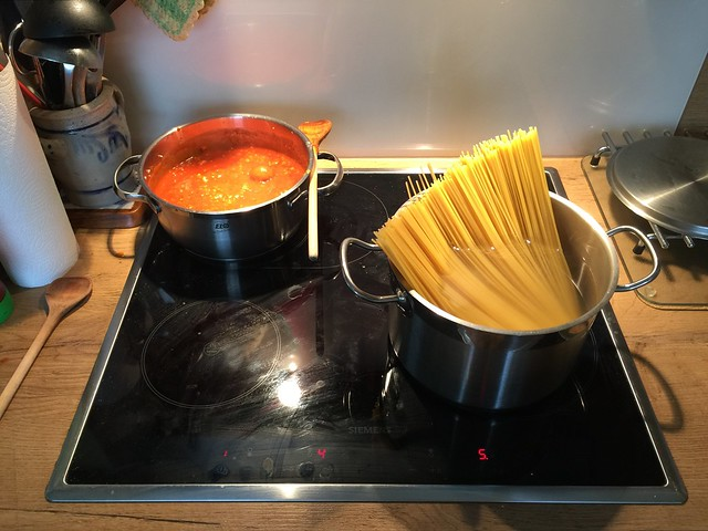 Spaghetti mit Hackfleisch-Tomatensauce [04.02.2017]