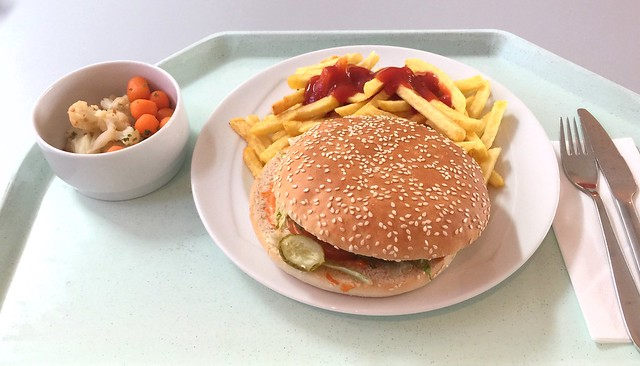 Cheeseburger & Pommes Frites [23.02.2017]