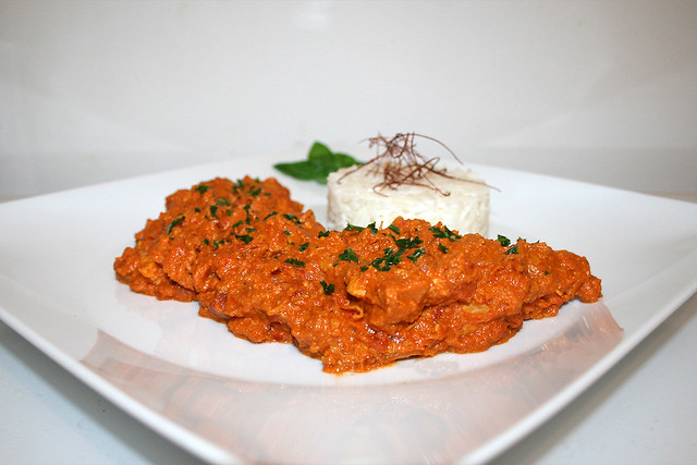 Chicken Makhani – Indisches Butterhuhn – das Rezept