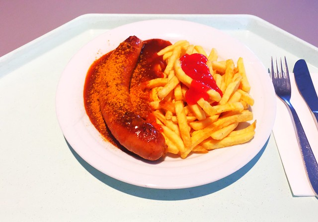Currywurst mit Pommes Frites [24.08.2017]