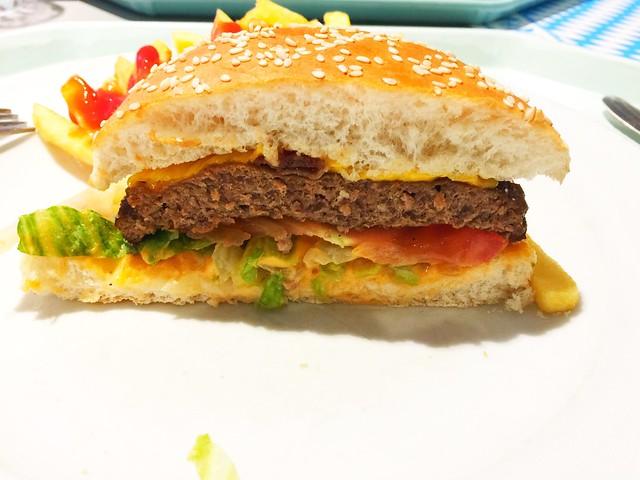 Hamburger & Pommes Frites [14.09.2017]
