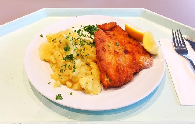 Gebackene Scholle mit Remoulade & Kartoffelsalat [06.10.2017]
