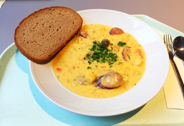 Cabanossi-Eintopf mit Kartoffeln & Käse [30.11.2017]