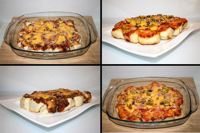 Bubble Up Pizza Variationen – Conchita & Speciale – das Rezept