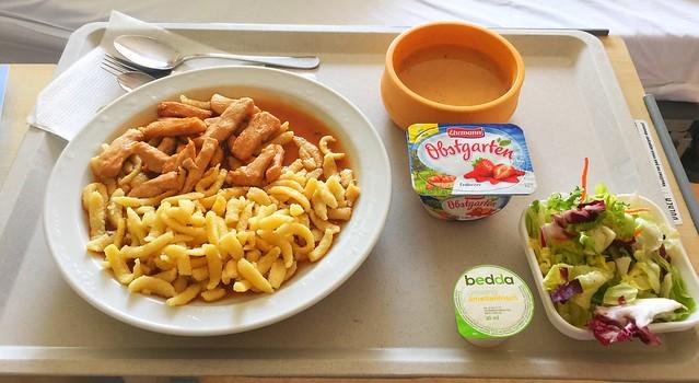 Kartoffelsuppe & Truthahngeschnetzeltes mit Spätzle – Klinikum Bogenhausen Day 5 [27.01.2018]