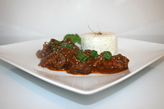 Mongolisches Rindfleisch im Slow Cooker – das Rezept