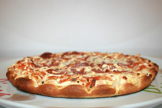 Wagner Die Backfrische Pizza Salami [04.08.2018]