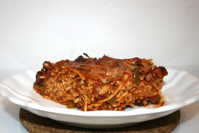 Gebackene Spaghetti – Resteverbrauch [26.11.2018]