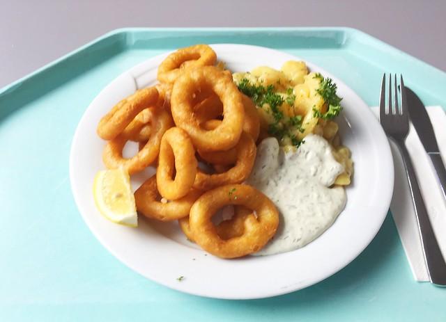 Calamari mit Remoulade & hausgemachten Kartoffelsalat [01.02.2019]
