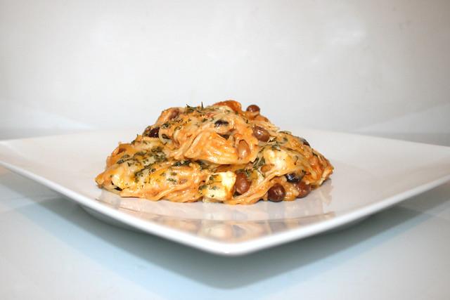 Cremige Hähnchen-Spaghetti – das Rezept