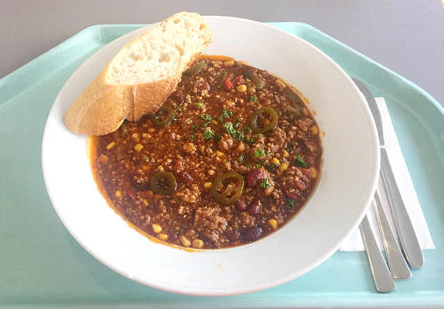 Chili con Carne mit Baguette[01.04.2019]