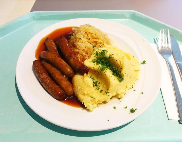Nürnberger Rostbratwürste mit Sauerkraut [06.05.2019]