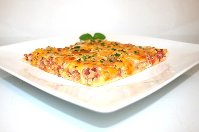 Reuben Pizza – das Rezept