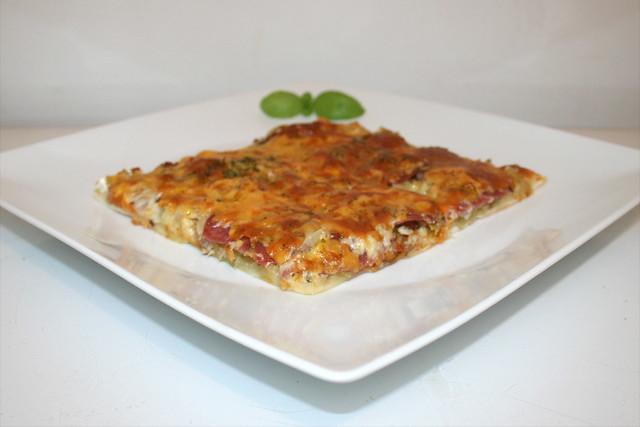 Sauerkraut-Lauch-Pizza – das Rezept