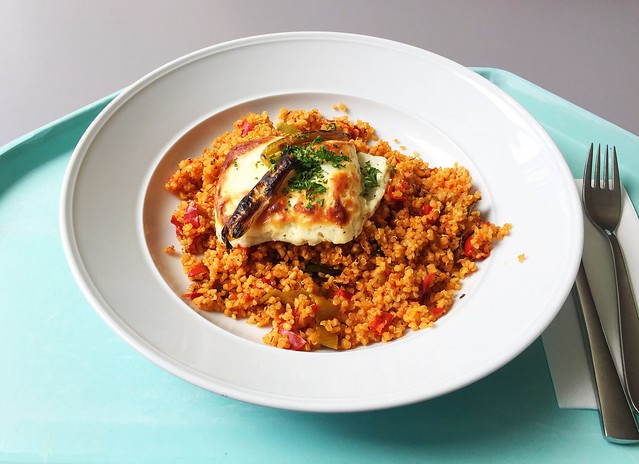 Bulgur-Quinoa-Gemüse mit Hirtenkäse [27.06.2019]