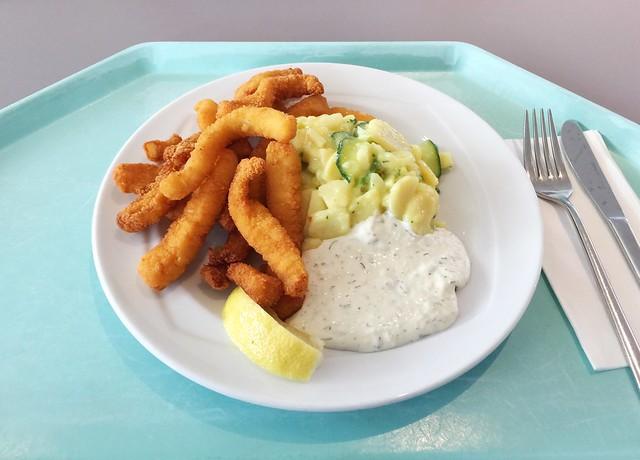 Calamari, Remoulade & Kartoffelsalat [07.08.2019]