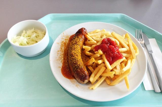 Currywurst mit Pommes Frites [29.08.2019]