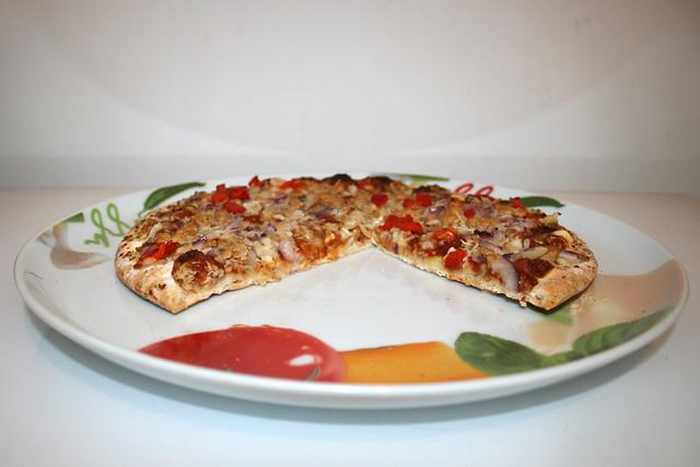 Papa Joe's Steinofen Pizza – Pulled Pork Style – ein Kurztest