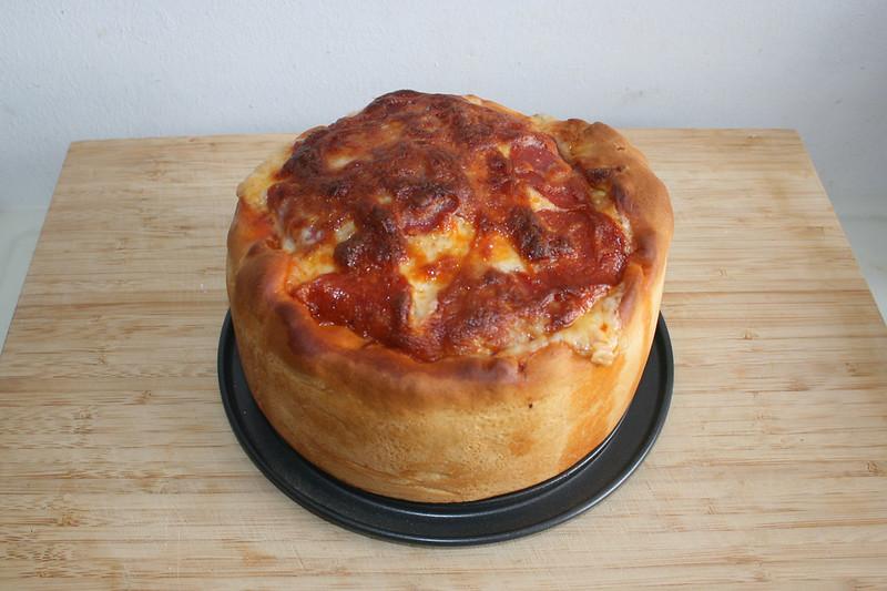 Pizzatorte – ein leicht gefailtes Rezept