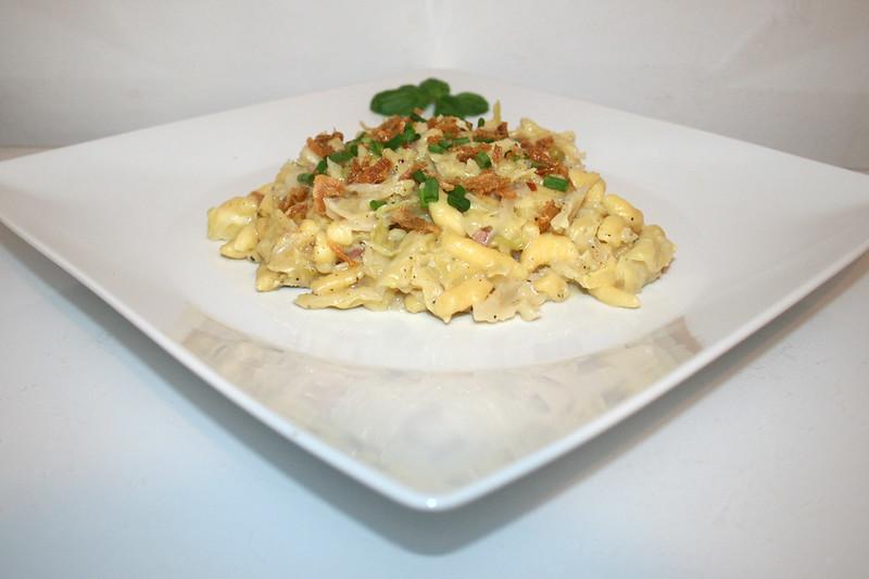 Wirsing-Käsespätzle – das Rezept