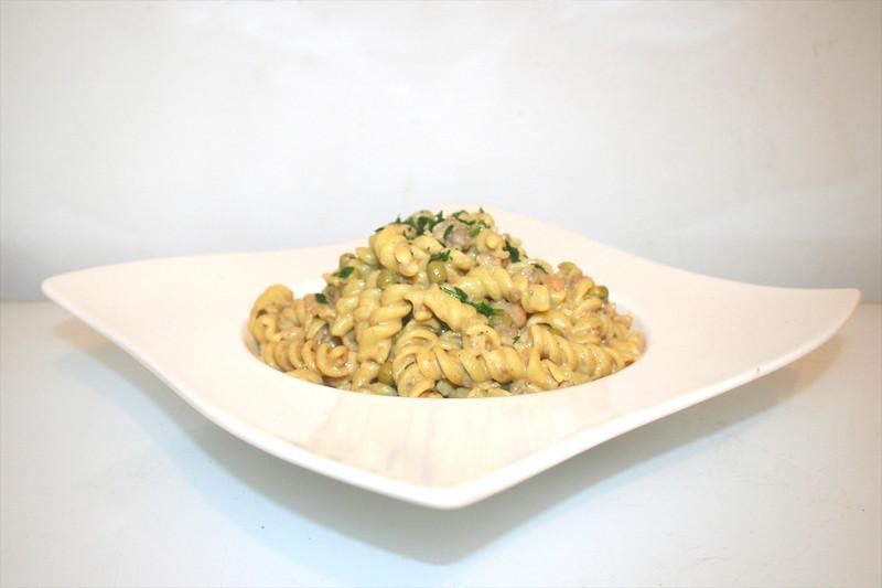 Spirelli-Topf mit Bohnen & Erbsen – ReCooked