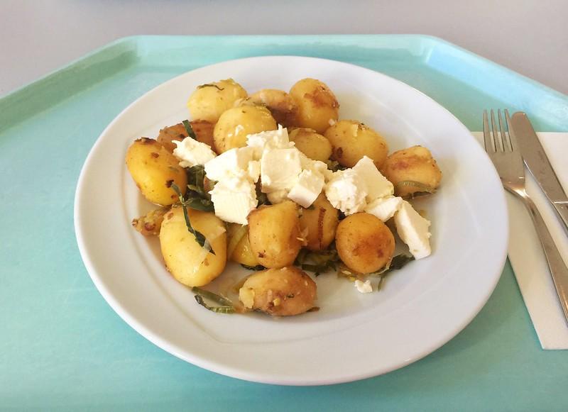 Kartoffelgeröstl mit Lauch & Hirtenkäse [15.10.2019]