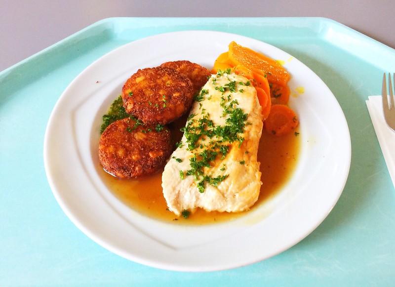 Putenschnitzel in Honig-Pfeffersauce mit Möhren & Rösti [16.10.2019]